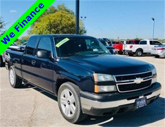 2007 Chevrolet Silverado 1500 Extended Cab >> Pre Owned 2007 Chevrolet Silverado 1500 Classic Work Truck Rwd Ext Cab